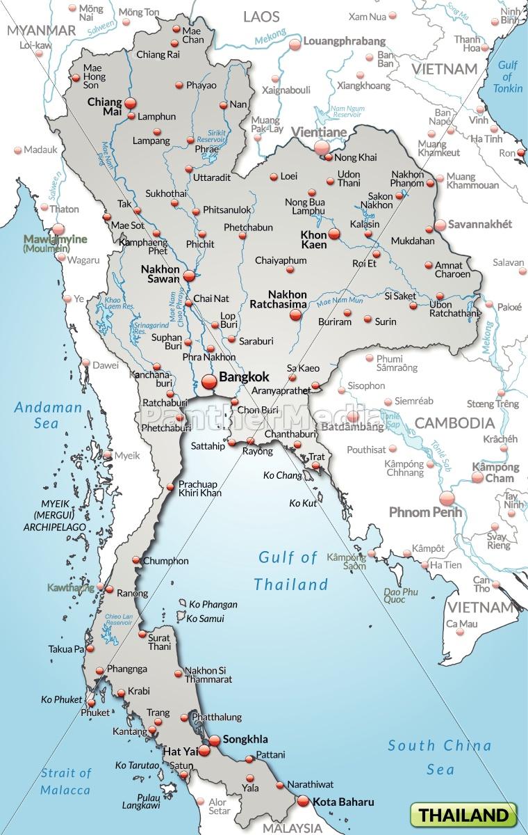 Kort Over Sydthailand | stoffeerderijrozendal