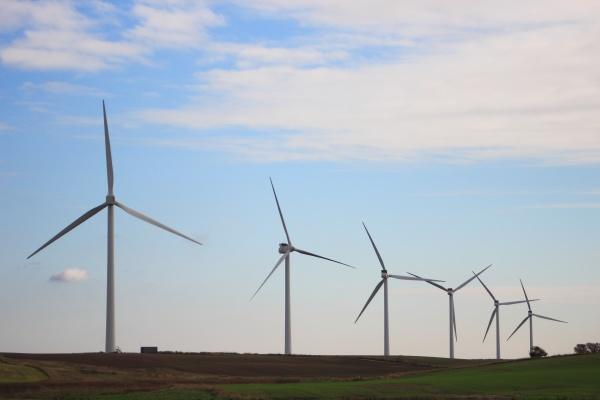 vindmolle park producerer substainable energi pa