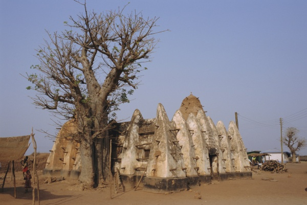 larabanga mosque ghana afrika