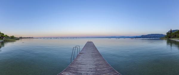 traemole ved gardasoen lago di