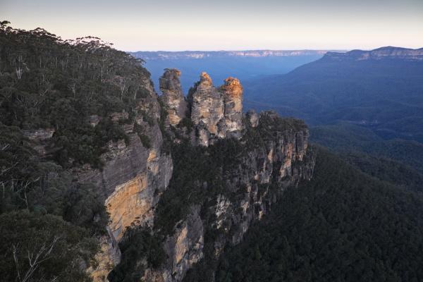 bla horisont park nationalpark solnedgang turisme