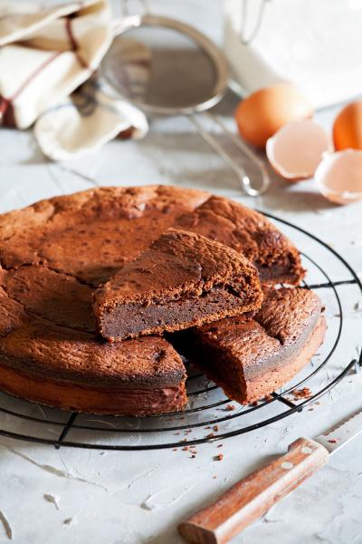 sweet, homemade, chocolate, cake - 28215307