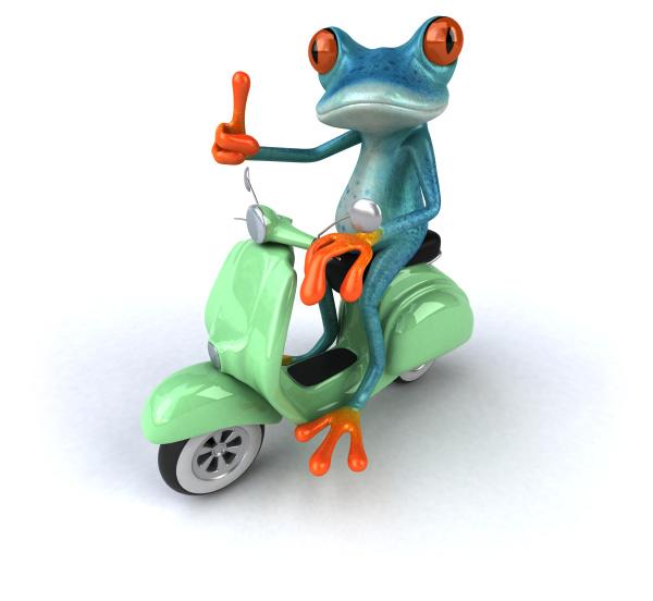 fun, frog, , 3d, illustration - 28217449