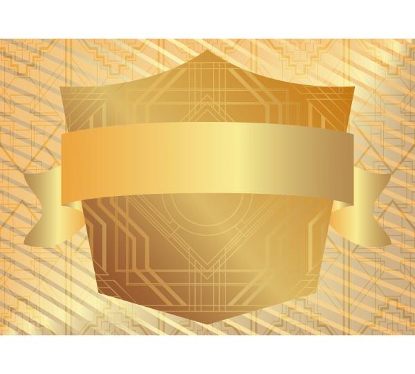 golden, art, deco, luksus, geometrisk, baggrund - 28257668