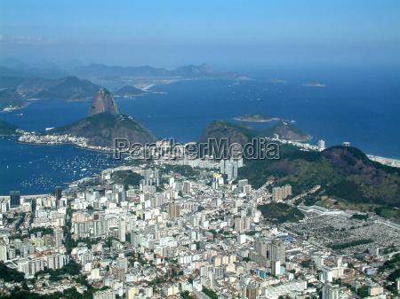 oer storby brasilien udsigt over by