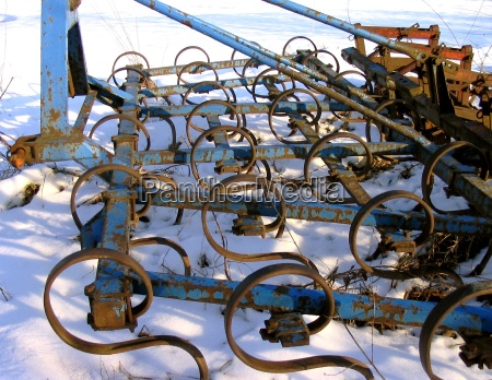 landbrug rustne harve