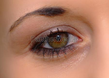 ojo femenino