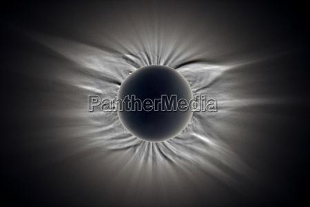 univers mane libyen linjer udstrale solformorkelse