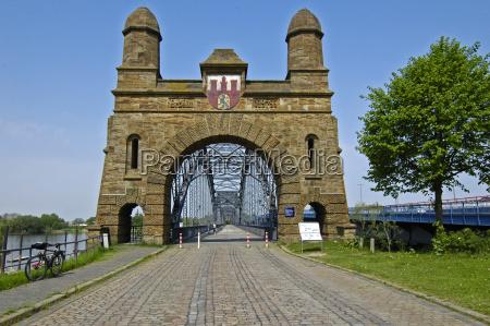 gamle harburg elbe bro iv