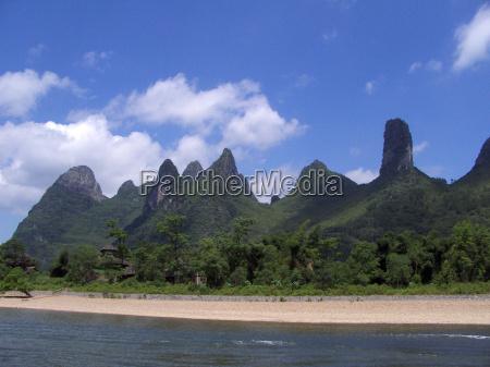 bjerge asien udsigt udsyn vue vid