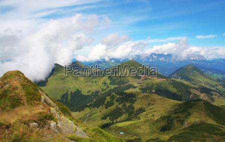 bjerge alper tinde udsigt udsyn vue