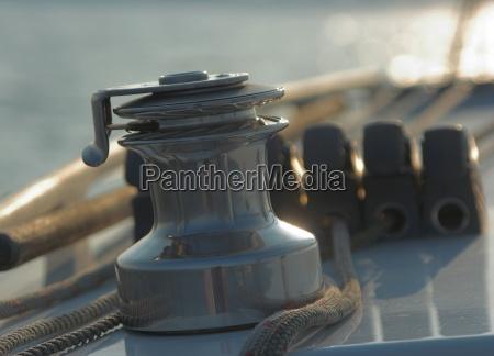 sofart sejle falde yacht spil baelg
