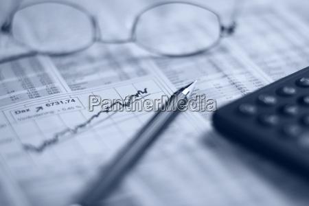 avis tageblatt pengeinstitut bank kontor beregning