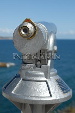 teleskop pa kysten
