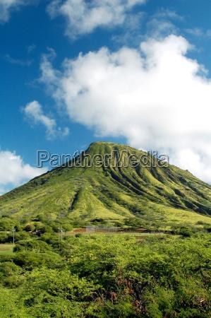 green, mountain, i, hawaii - 1247633
