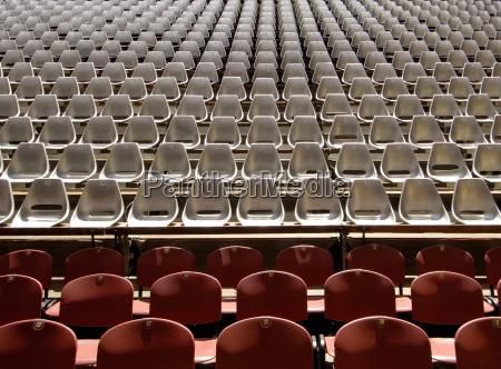 siddepladser pa auditorium koncert event