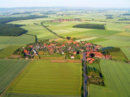 nordtyske landsby