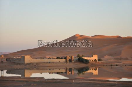 kasbah in the sahara morocco