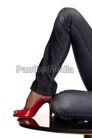 sko bukser buks benklaeder jeans cowboybukser