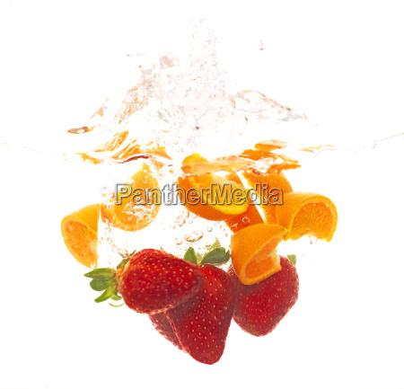 faldende frugt