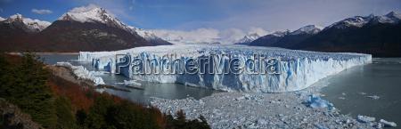 nationalpark argentina glacier gigantisk