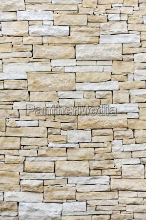 wall lavet af sandsten mursten