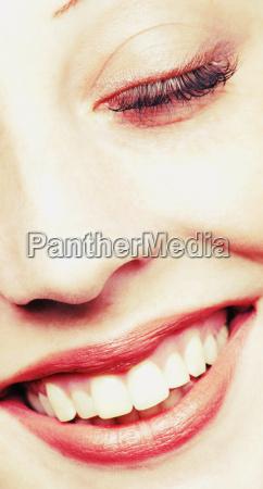 kvindes ansigt