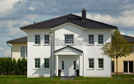 single family housethe house with a