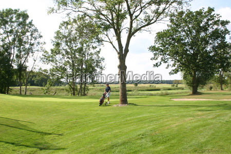 fritid sport golfbane golfspiller