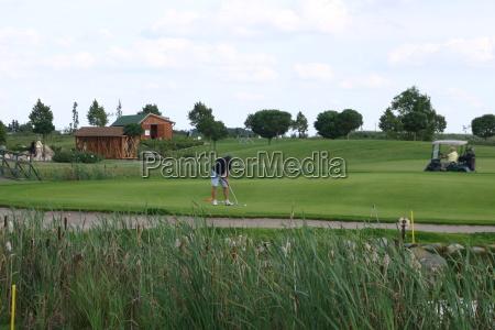 golfpark strelasundgolfer putts