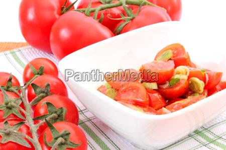 frisk tomatsalat