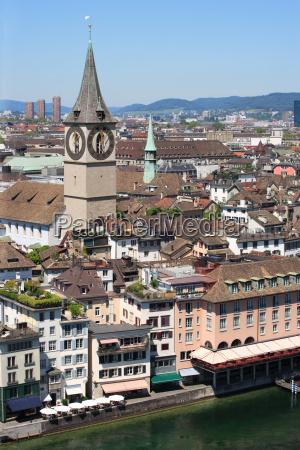 city of zurich switzerland