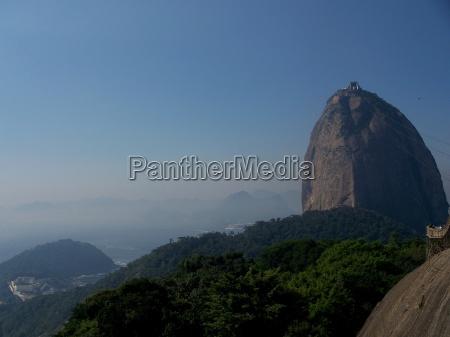sten brasilien sydamerika vartegn bjerg piktogram
