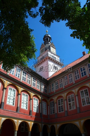 courtyard slot wolfenbuettel