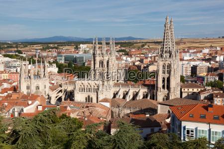katedral burgos castilla y leon spanien
