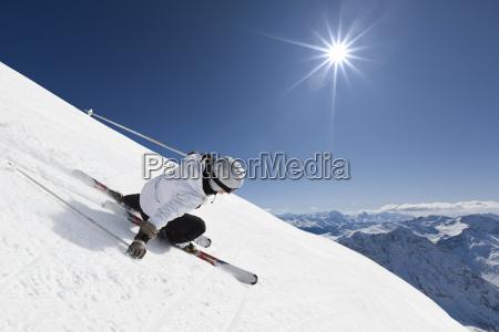 kvindelige bjerg skilober