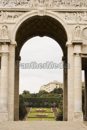 indgangen af u200bu200ben park scalinata delle