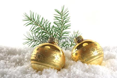 advent gylden snefnug julepynt sne jul