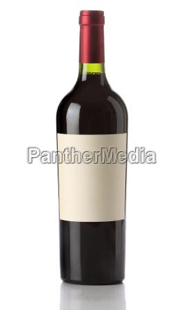vin flaske isoleret