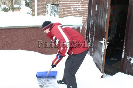 push snow
