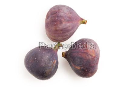figenfrugt pa hvid baggrund