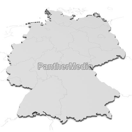 tyskland kort