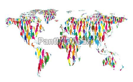 verdens befolkning