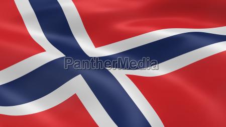 bla norge fane aere flag staten