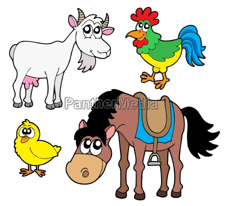 farm animals collection 2