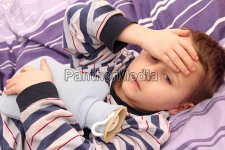 sygt barn
