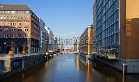 historisk kanal hamburg stil af byggeri