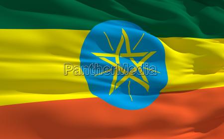 bolmende flag etiopien