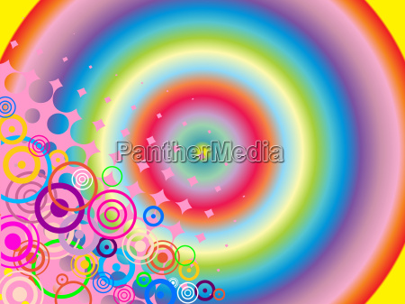koncept udkast plan farverig staerkt farvet