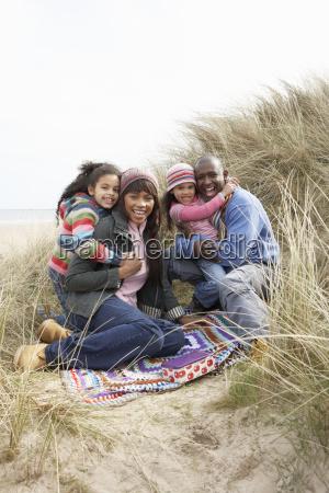 fnise smiler ferie vinter strand seaside